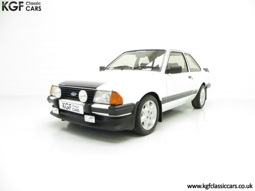 1983 A Diamond White Ford Motorsport Developed Escort RS1600i SOLD (picture 2 of 6)