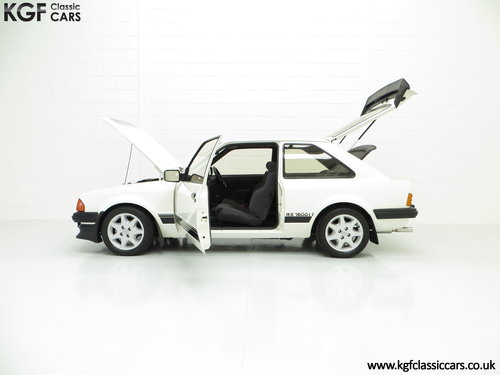 1983 A Diamond White Ford Motorsport Developed Escort RS1600i SOLD (picture 3 of 6)