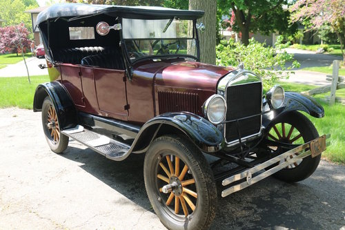 1926 Ford Model A Tourer For Sale (picture 1 of 6)