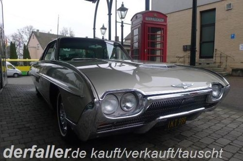 1963 Ford Thunderbird Hardtop 88000 Mls Black plates SOLD (picture 1 of 6)