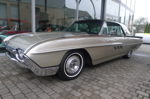 1963 Ford Thunderbird Hardtop 88000 Mls Black plates SOLD (picture 2 of 6)