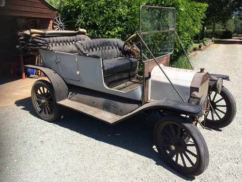 100% BARN-FIND -1912 -Ford Model T Touring SOLD (picture 1 of 4)