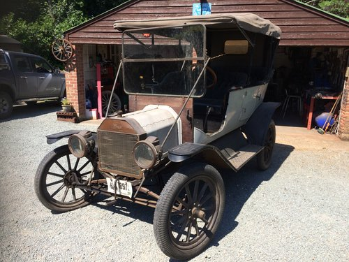100% BARN-FIND -1912 -Ford Model T Touring SOLD (picture 2 of 4)