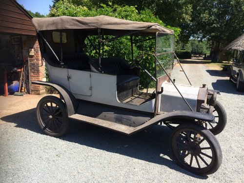 100% BARN-FIND -1912 -Ford Model T Touring SOLD (picture 4 of 4)