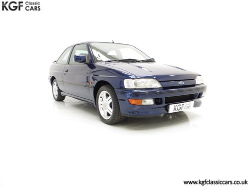 1993 An Incredible Ford Escort Mk5 RS2000 with Only 12,462 Miles SOLD (picture 1 of 6)