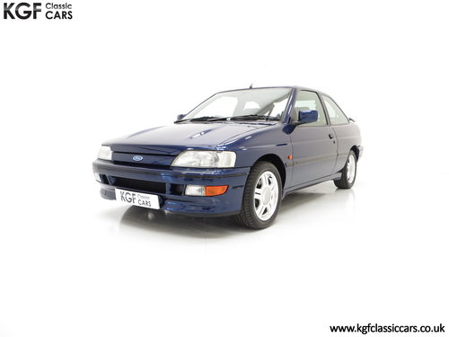 1993 An Incredible Ford Escort Mk5 RS2000 with Only 12,462 Miles SOLD (picture 2 of 6)