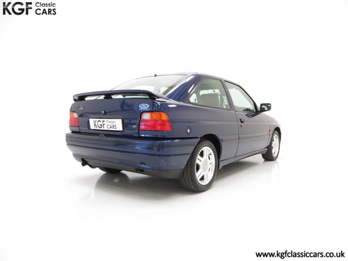 1993 An Incredible Ford Escort Mk5 RS2000 with Only 12,462 Miles SOLD (picture 5 of 6)