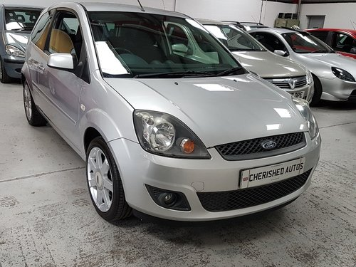 2008 FORD FIESTA 1.25 ZETEC*GENUINE 24,000 MILES*FULL FORD S/HIS  For Sale (picture 1 of 6)