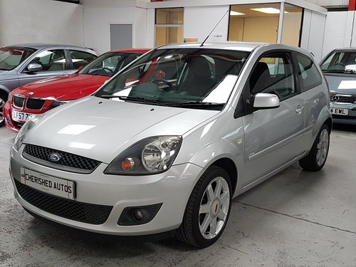 2008 FORD FIESTA 1.25 ZETEC*GENUINE 24,000 MILES*FULL FORD S/HIS  For Sale (picture 3 of 6)