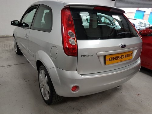 2008 FORD FIESTA 1.25 ZETEC*GENUINE 24,000 MILES*FULL FORD S/HIS  For Sale (picture 4 of 6)