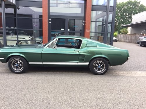 Ford Mustang Fastback Dark Moss Green 1967 For Sale | Car