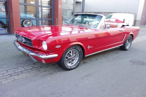 Ford Mustang Convertible Supercharged 1965 For Sale (picture 1 of 6)