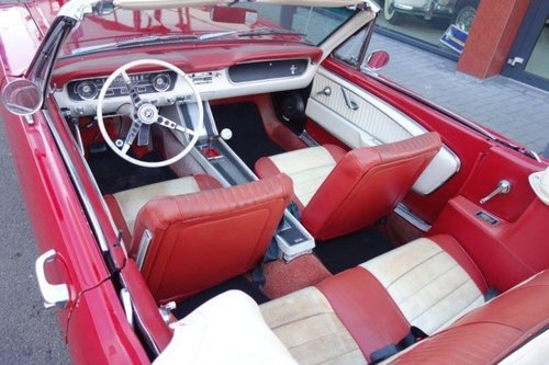 Ford Mustang Convertible Supercharged 1965 For Sale (picture 3 of 6)