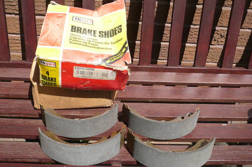 1979 Rear Brake Shoes for Ford Granada Mark 2 For Sale (picture 1 of 1)