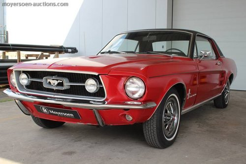 FORD MUSTANG HARDTOP COUPE SOLD by Auction (picture 1 of 6)