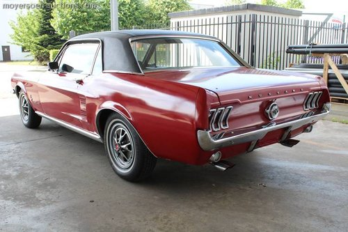 FORD MUSTANG HARDTOP COUPE SOLD by Auction (picture 4 of 6)