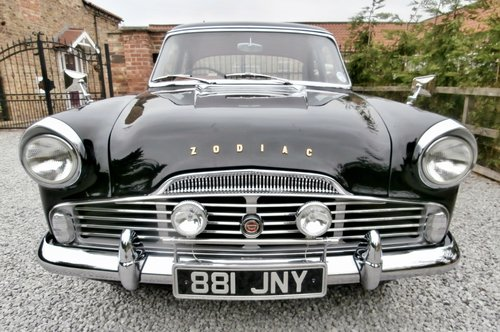1961 Ford Zodiac MK2    ( Superb example ) SOLD (picture 2 of 6)