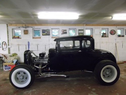 1930 Model'A' All Henry Ford Steel, Hot Rod, Unfinised Project For Sale (picture 2 of 6)