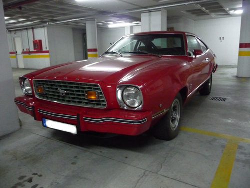 Ford Mustang II V8 T5 1976 For Sale (picture 1 of 6)