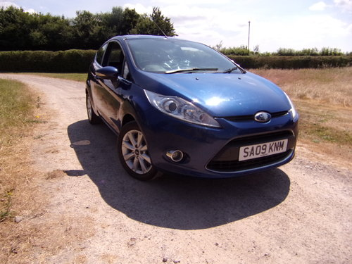 2009 Ford Fiesta 1.25 Zetec 82 For Sale (picture 1 of 6)