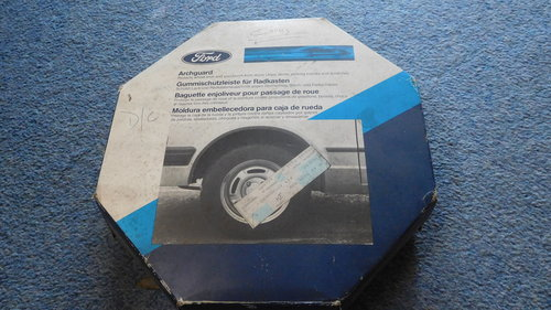 GENUINE FORD ACCESSORY CAPRI WHEEL ARCH PROTECTOR KIT For Sale (picture 1 of 4)