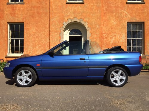 1997 Ford Escort Mk6 Cabriolet 1.6 Calypso ***NOW SOLD *** For Sale (picture 1 of 6)