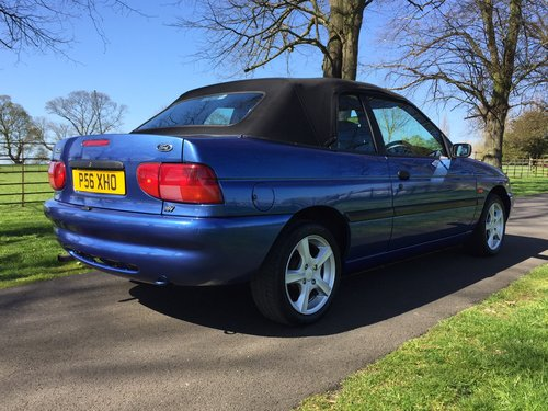 1997 Ford Escort Mk6 Cabriolet 1.6 Calypso ***NOW SOLD *** For Sale (picture 3 of 6)