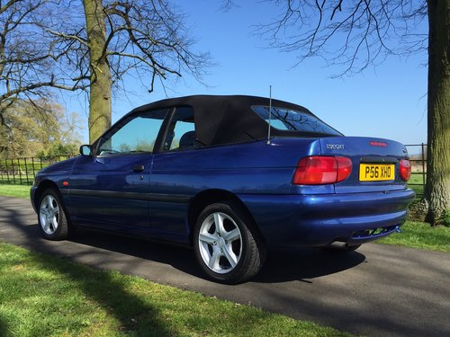 1997 Ford Escort Mk6 Cabriolet 1.6 Calypso ***NOW SOLD *** For Sale (picture 4 of 6)