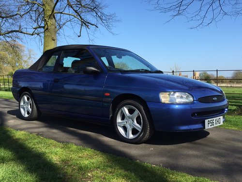1997 Ford Escort Mk6 Cabriolet 1.6 Calypso ***NOW SOLD *** For Sale (picture 5 of 6)