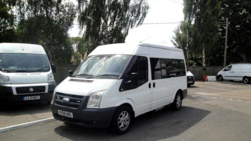 2008 FORD TRANSIT 2.2 TDCI [140] MWB Med Roof 12 Seater VAN For Sale (picture 1 of 6)