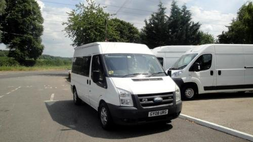 2008 FORD TRANSIT 2.2 TDCI [140] MWB Med Roof 12 Seater VAN For Sale (picture 2 of 6)