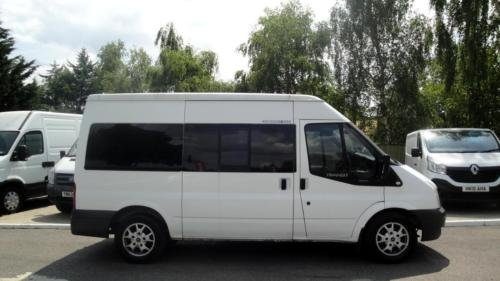 2008 FORD TRANSIT 2.2 TDCI [140] MWB Med Roof 12 Seater VAN For Sale (picture 3 of 6)