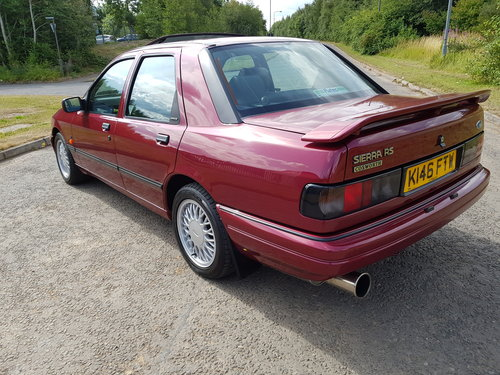 1992 Ford Sierra RS Cosworth 4x4 For Sale (picture 3 of 6)