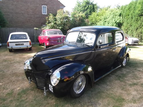 1940  Tudor Standard Sedan, Cool Hot Rod, Real Eyecatcher 302/V8 SOLD (picture 3 of 6)