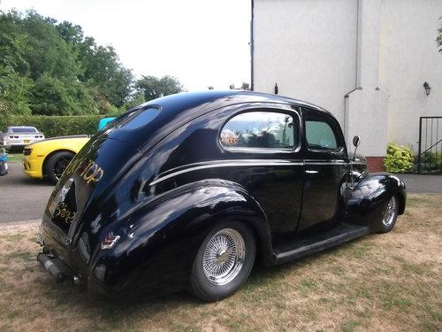 1940  Tudor Standard Sedan, Cool Hot Rod, Real Eyecatcher 302/V8 SOLD (picture 4 of 6)