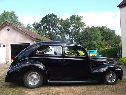 1940  Tudor Standard Sedan, Cool Hot Rod, Real Eyecatcher 302/V8 SOLD (picture 5 of 6)
