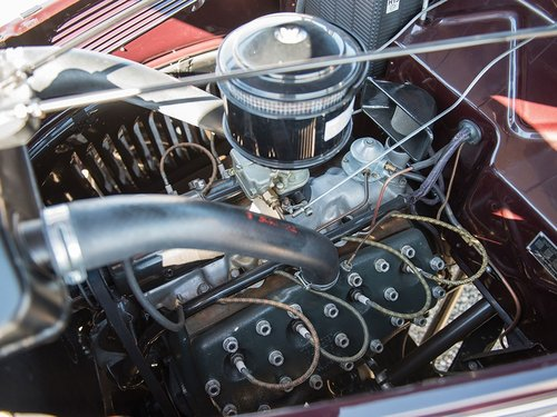Show Condition 1937 Ford V8 DeLuxe Roadster For Sale (picture 6 of 6)