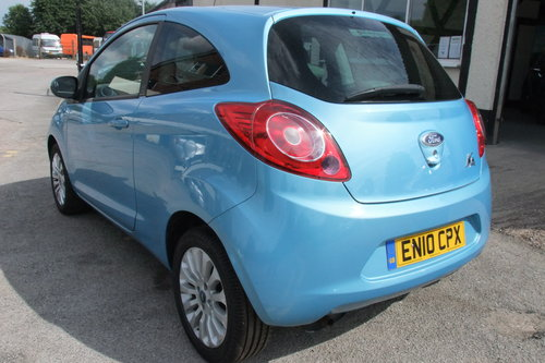 2010 FORD KA 1.2 ZETEC 3DR SOLD (picture 2 of 6)