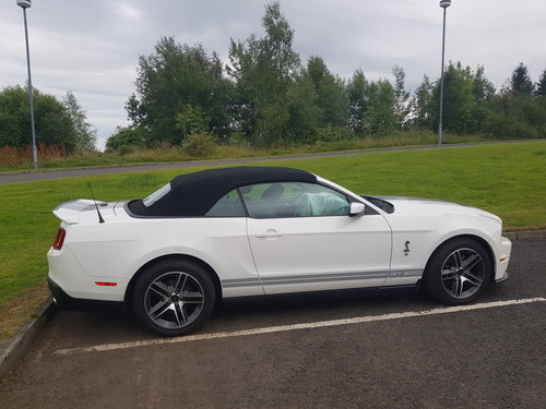 2010 Shelby gt 500 convertible  For Sale (picture 1 of 6)