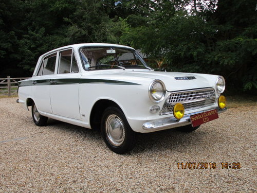 1964 Ford Cortina 1200 Deluxe Lhd SOLD (picture 1 of 6)
