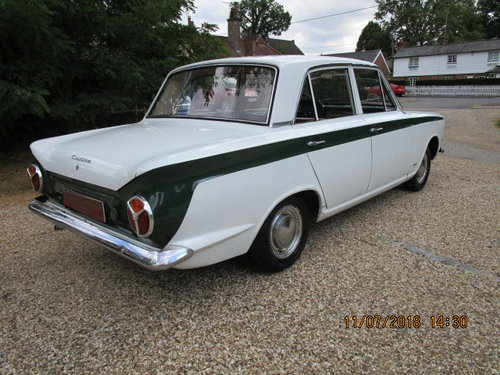 1964 Ford Cortina 1200 Deluxe Lhd SOLD (picture 2 of 6)