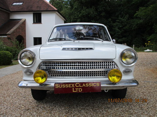 1964 Ford Cortina 1200 Deluxe Lhd SOLD (picture 3 of 6)