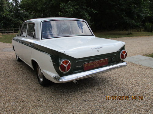 1964 Ford Cortina 1200 Deluxe Lhd SOLD (picture 4 of 6)