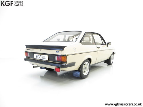 1980 A Superb Very Original Ford Escort Mk2 RS2000, 31,786 Miles SOLD (picture 5 of 6)