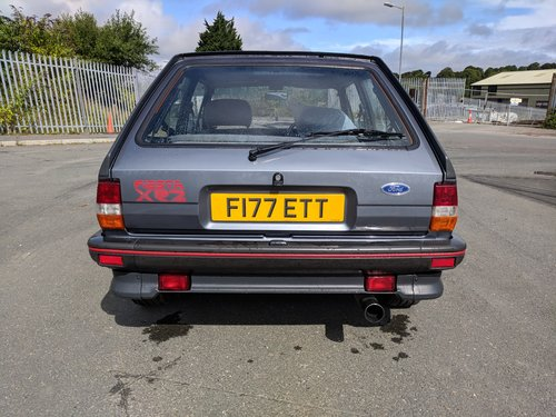 1988 Ford Fiesta XR2 mk2 For Sale (picture 5 of 6)