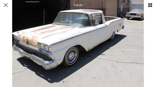 1959 Ford ranchero For Sale (picture 1 of 6)