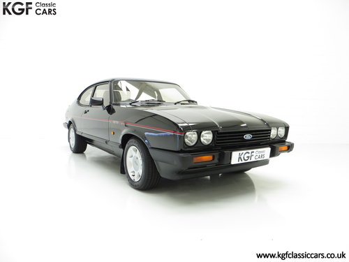 1987 A Mind-Blowing Ford Capri 2.8 Injection Special, 8,334 miles SOLD (picture 1 of 6)