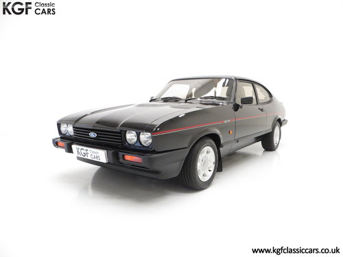 1987 A Mind-Blowing Ford Capri 2.8 Injection Special, 8,334 miles SOLD (picture 2 of 6)