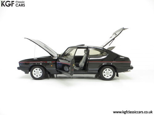 1987 A Mind-Blowing Ford Capri 2.8 Injection Special, 8,334 miles SOLD (picture 3 of 6)