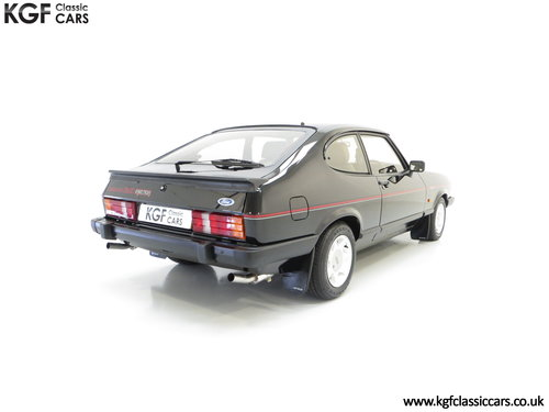 1987 A Mind-Blowing Ford Capri 2.8 Injection Special, 8,334 miles SOLD (picture 5 of 6)